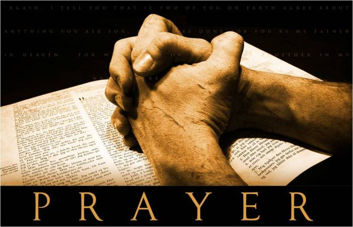 Prayer graphic